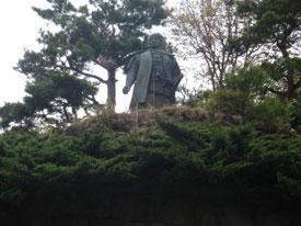 上杉謙信銅像