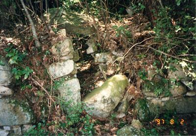観音寺城石垣