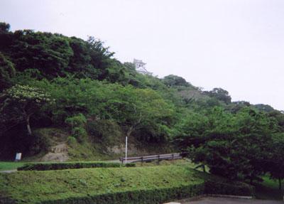 館山城模擬天守