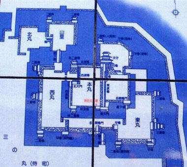 府内城の図