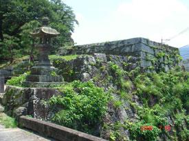 臼杵城 亭櫓台