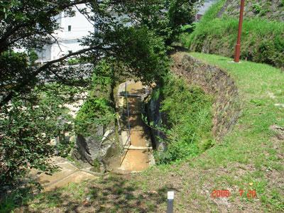 臼杵城 鐙坂