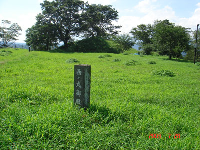 岡城 西の丸御殿跡