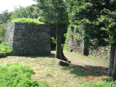 岡城 近戸門跡