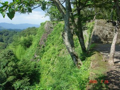 岡城 三の丸石垣