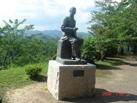 岡城 滝廉太郎の銅像
