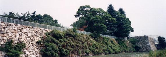 淀城 石垣