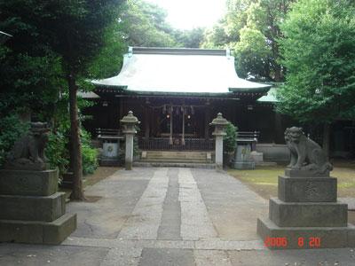 志村城 熊野神社