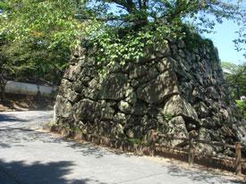 大和郡山城 鉄門跡