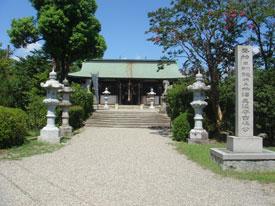 大和郡山城 柳沢神社