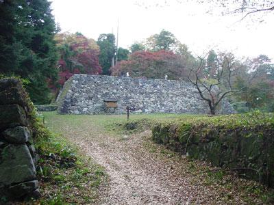 高取城 二の丸跡