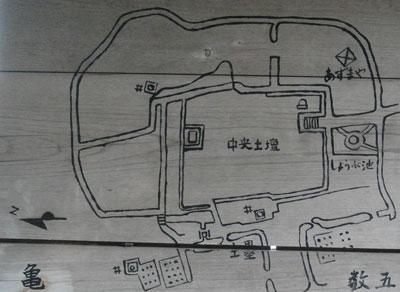 正法寺山荘の図