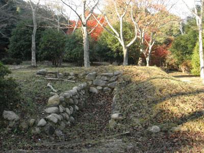 正法寺山荘 排水溝