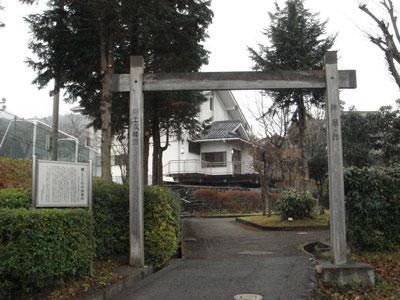 朽木陣屋 模擬冠木門