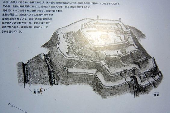大嶽城鳥瞰図