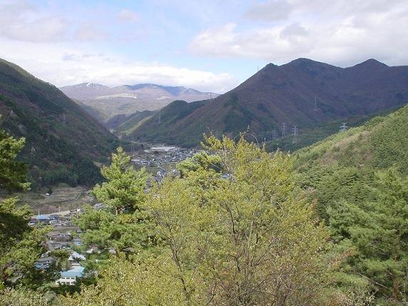 松尾古城遠景
