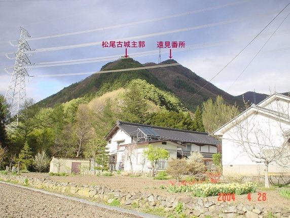 松尾古城全景
