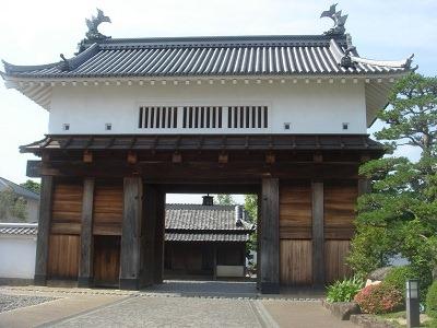 掛川城復元大手門