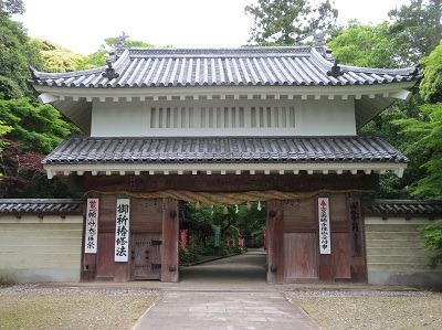掛川城移築大手門