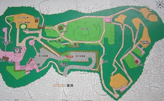 多賀山公園案内図