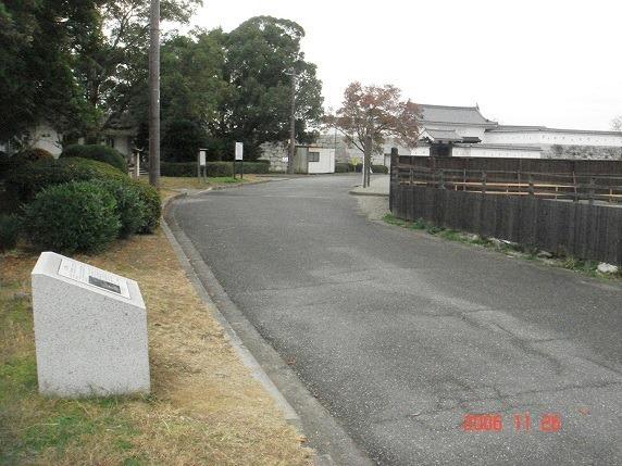二の丸門跡