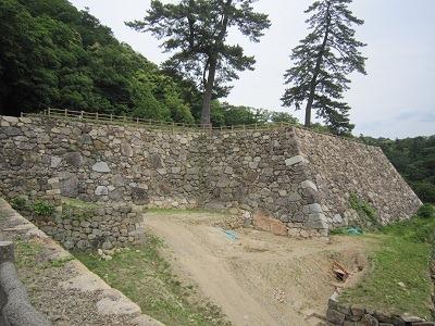 12天球丸石垣