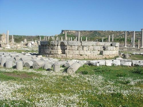 アゴラの神殿跡