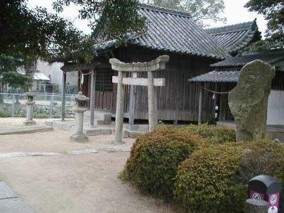 庭瀬城中之島清山神社