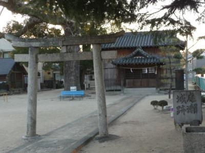庭瀬城清山神社2