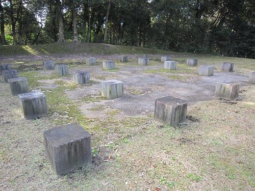 35蔵之城建物跡