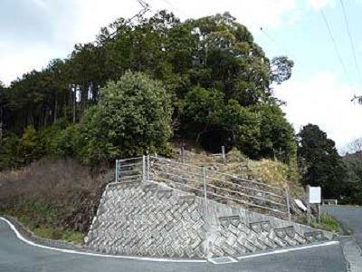 松山観音堂の丘