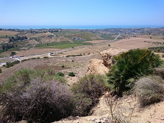 ヘラ神殿からの眺望