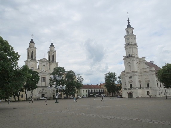 市庁舎広場