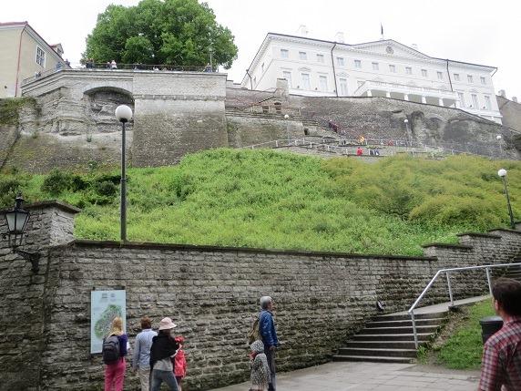 55城壁と大統領官邸