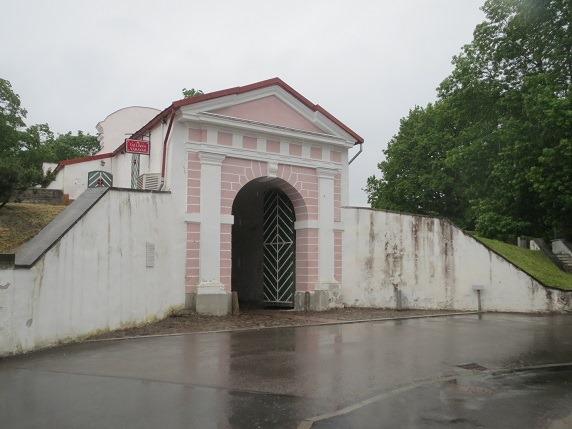 タリン門城内側