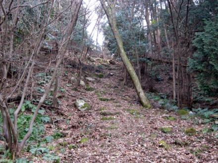 13主郭北石段