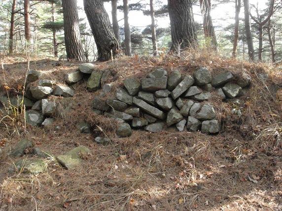 1郭東側の石垣