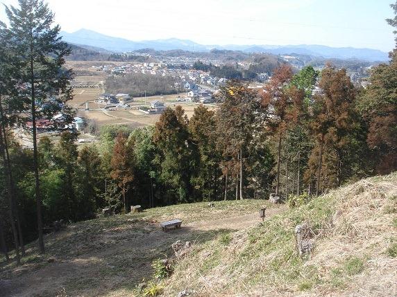 20井戸郭からの眺望