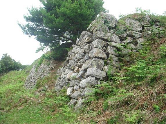 27二の丸から本丸にかけての西面石垣