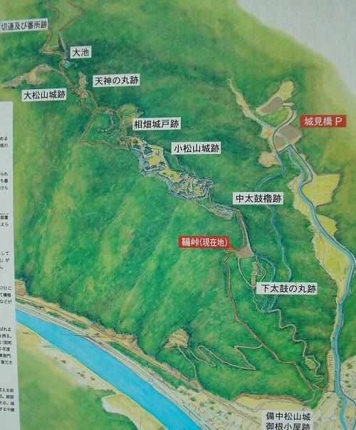 01松山城位置図