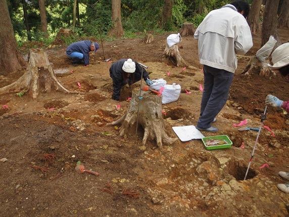 23西の丸発掘調査