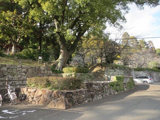01二の丸石垣