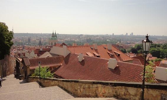 30プラハ城からの眺望