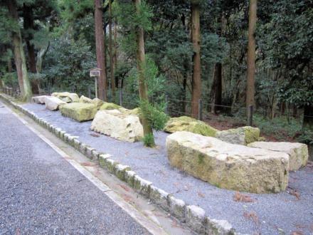06石垣の石