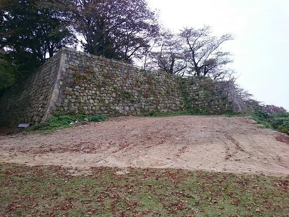 本丸北面石垣