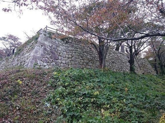 本丸南面石垣