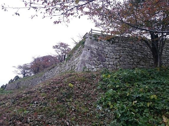 本丸西面石垣