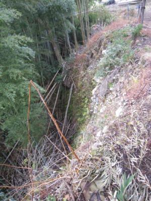 15北側急崖