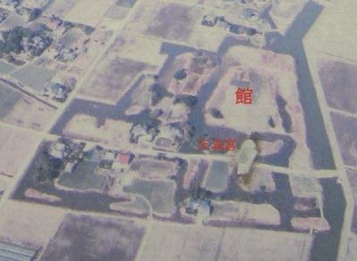 姉川城航空写真