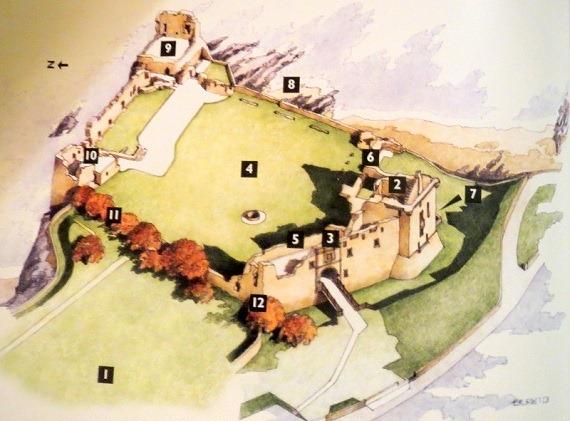 00セントアンドリュース城絵図